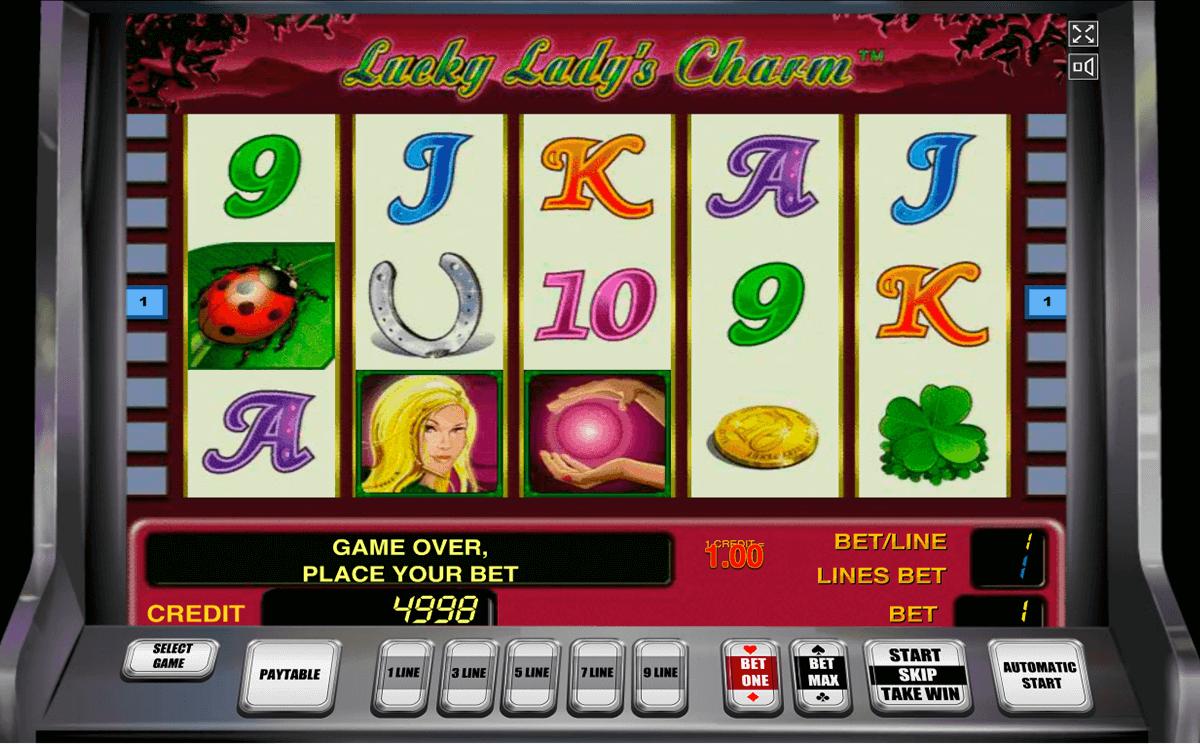 lucky ladys charm novomatic slot