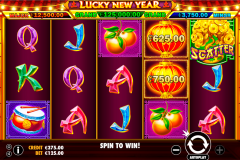 lucky new year pragmatic slot