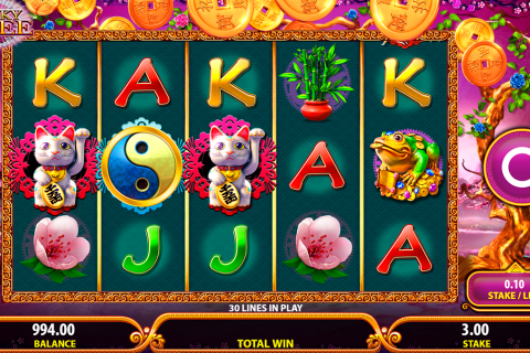 lucky tree bally slot