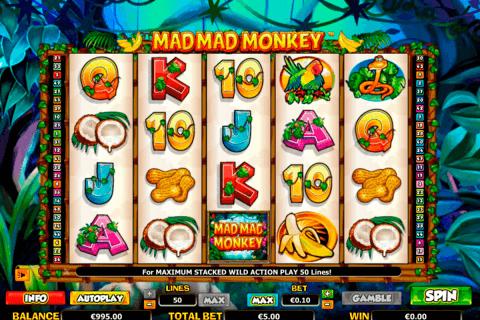 mad mad monkey netgen gaming slot
