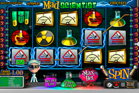 mad scientist betsoft slot