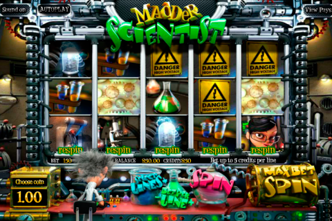 madder scientist betsoft slot