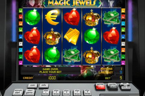 magic jewels novomatic slot