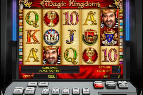 magic kingdom novomatic slot