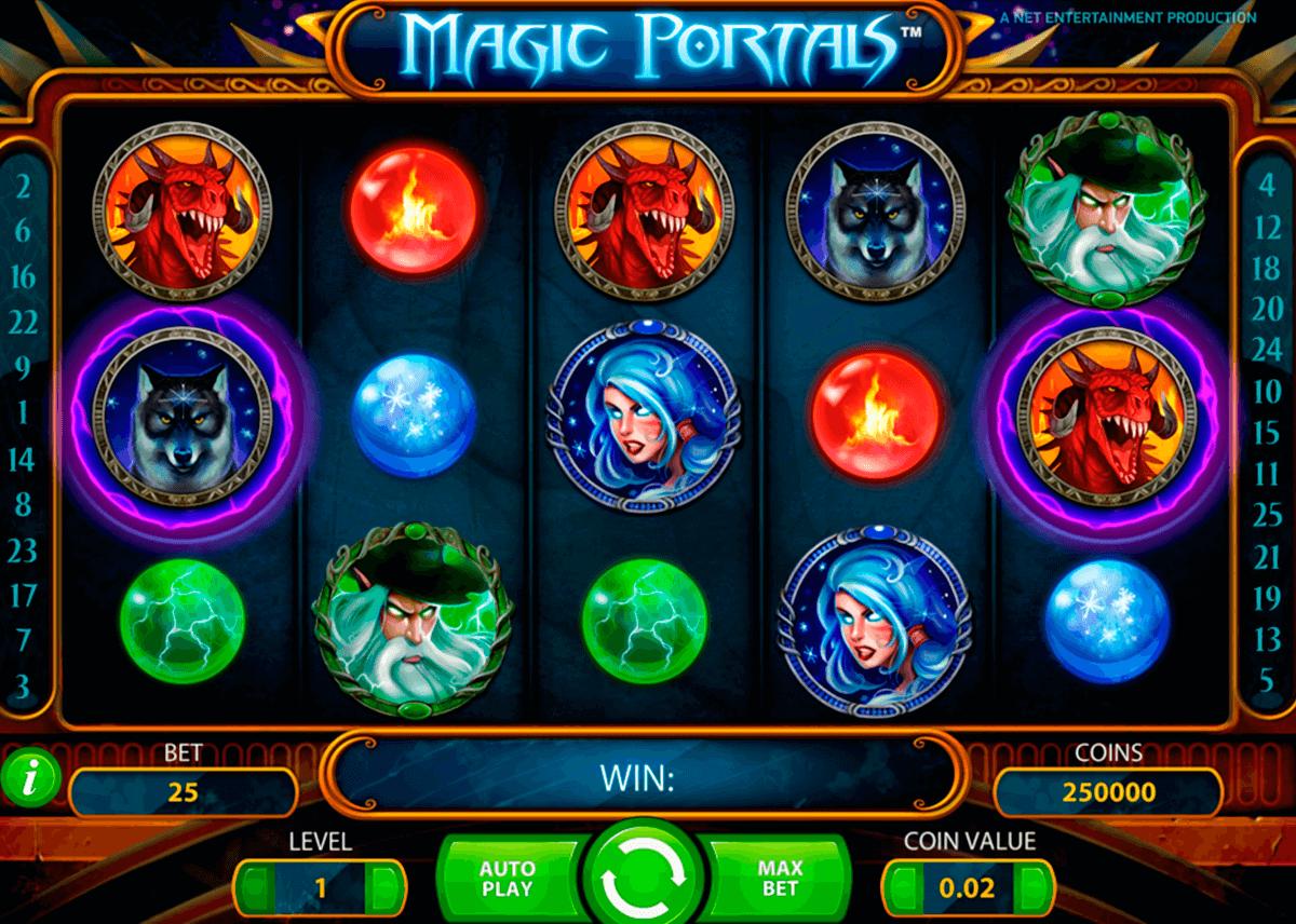 magic portals netent slot