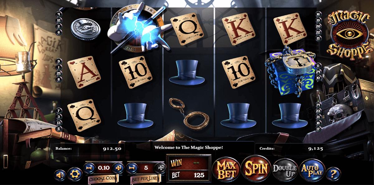 magic shoppe betsoft slot