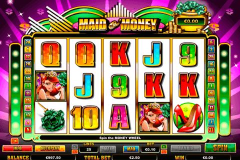 maid o money netgen gaming slot