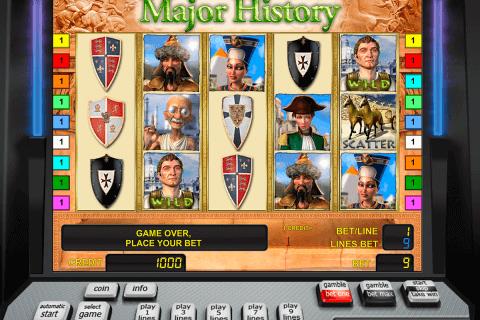 major history novomatic slot