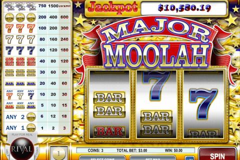 major moolah rival slot