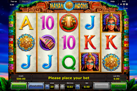 mayan moons novomatic slot