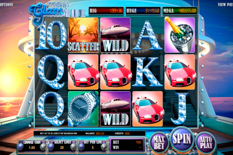 mega glam life betsoft slot