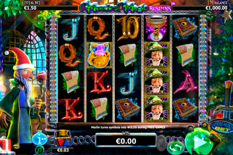 merlins magic respins christmas netgen gaming slot