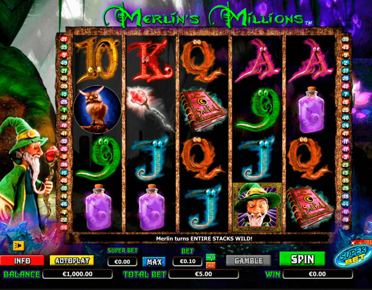 merlins millions superbet nextgen gaming slot