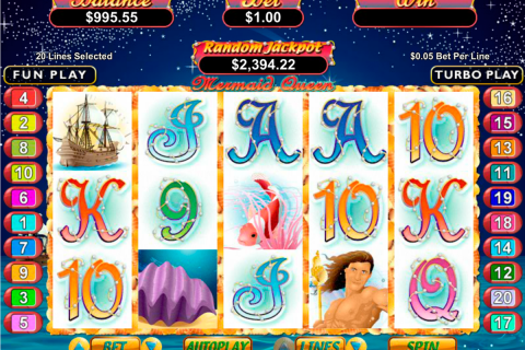 mermaid queen rtg slot