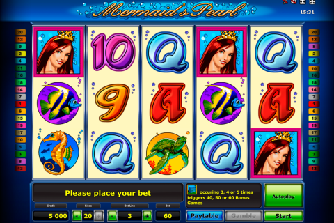 mermaids pearl delue novomatic slot