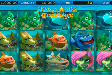mermaids treasure nucleus gaming slot