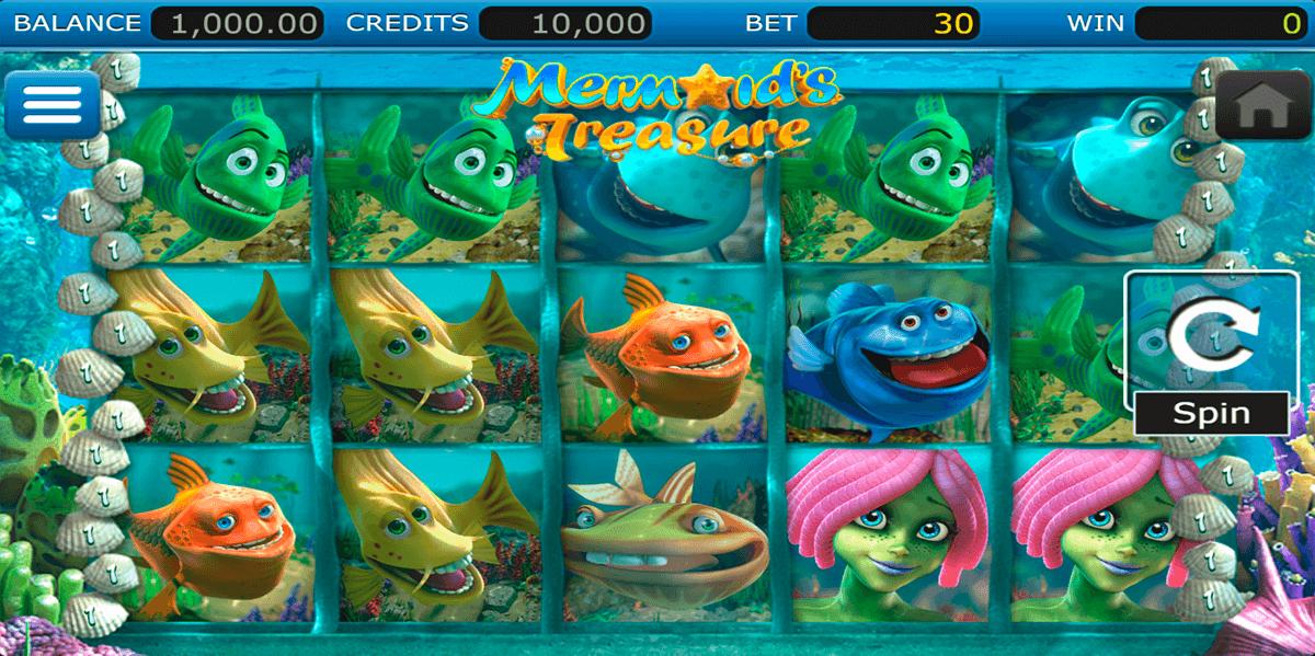 mermaids treasure nucleus gaming slot