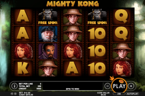 mighty kong pragmatic slot