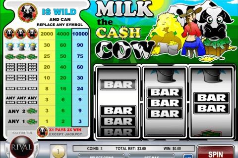 milk the cash cow rival slot