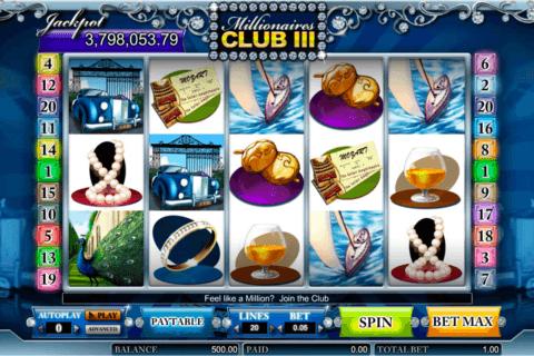 millionaires club iii amaya slot