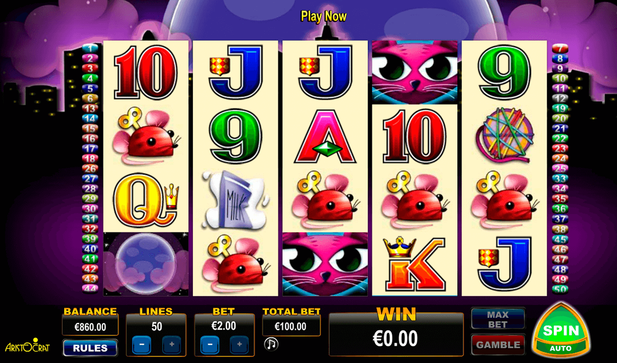 miss kitty aristocrat slot