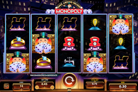 monopoly once around delue wms slot