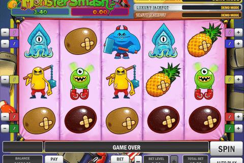 monster smash playn go slot
