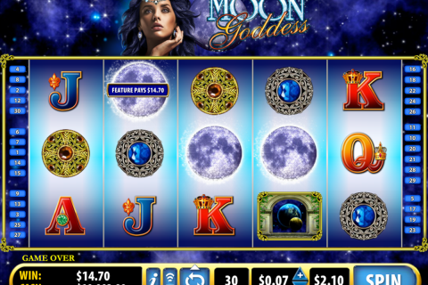 moon goddess bally slot