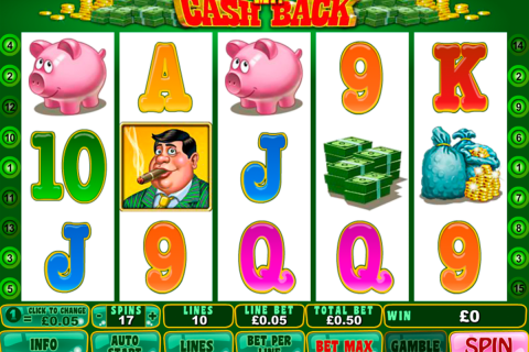 mr cashback playtech slot