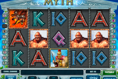 myth playn go slot