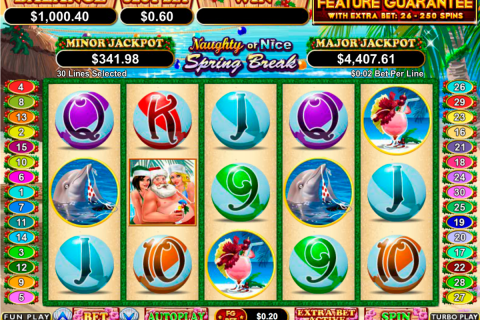 naughty or nice spring break rtg slot