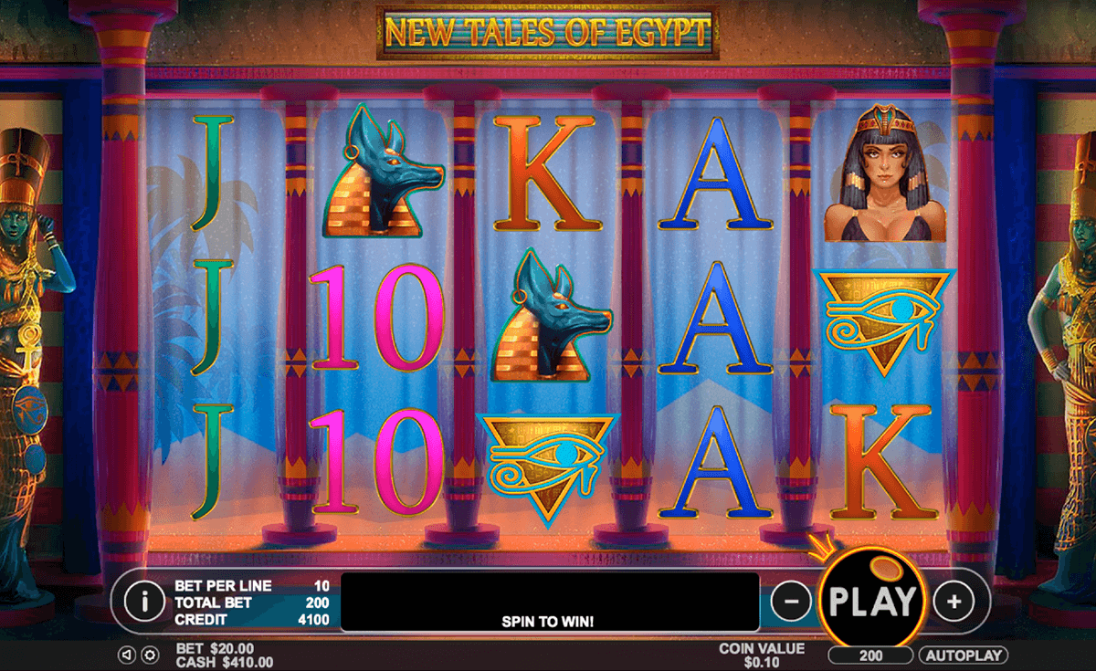 new tales of egypt pragmatic slot