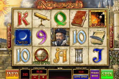 nostradamus playtech slot