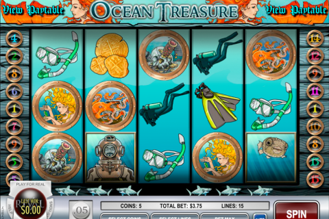 ocean treasure rival slot