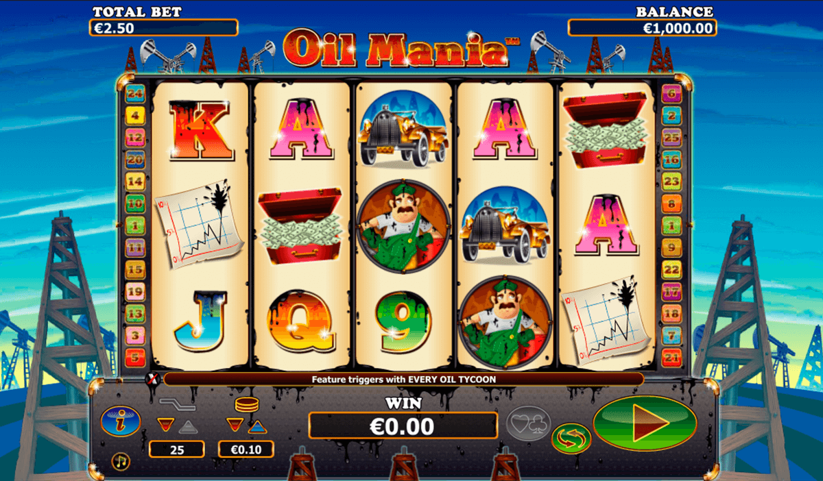 oil mania netgen gaming slot