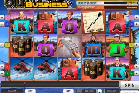 oily business playn go slot