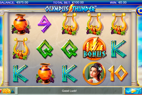 olympus thunder netgen gaming slot