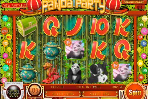 panda party rival slot