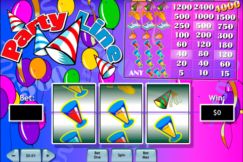 party line playtech slot