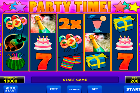 party time amatic slot