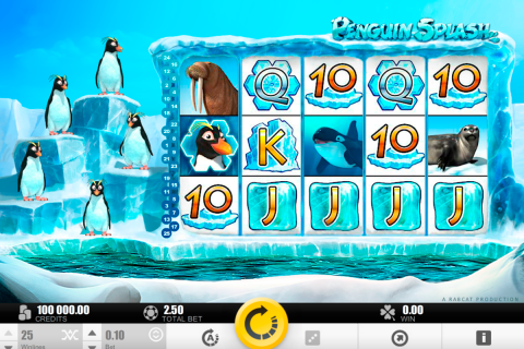 penguin splash rabcat slot