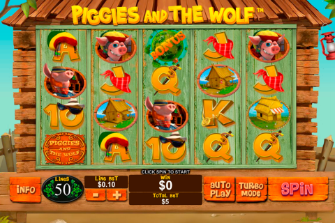 piggies and the wolf playtech slot