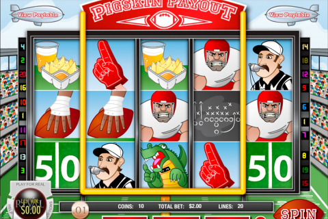 pigskin payout rival slot
