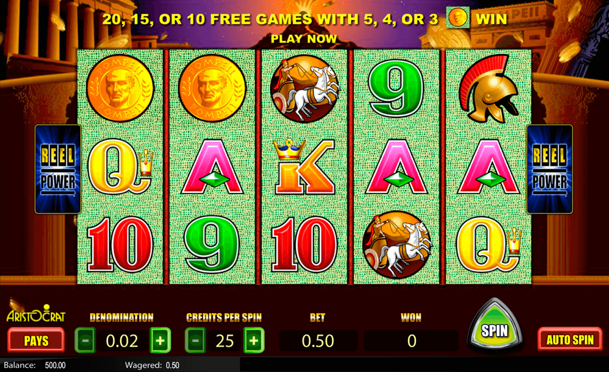 Free Slot Games To Play For Fun