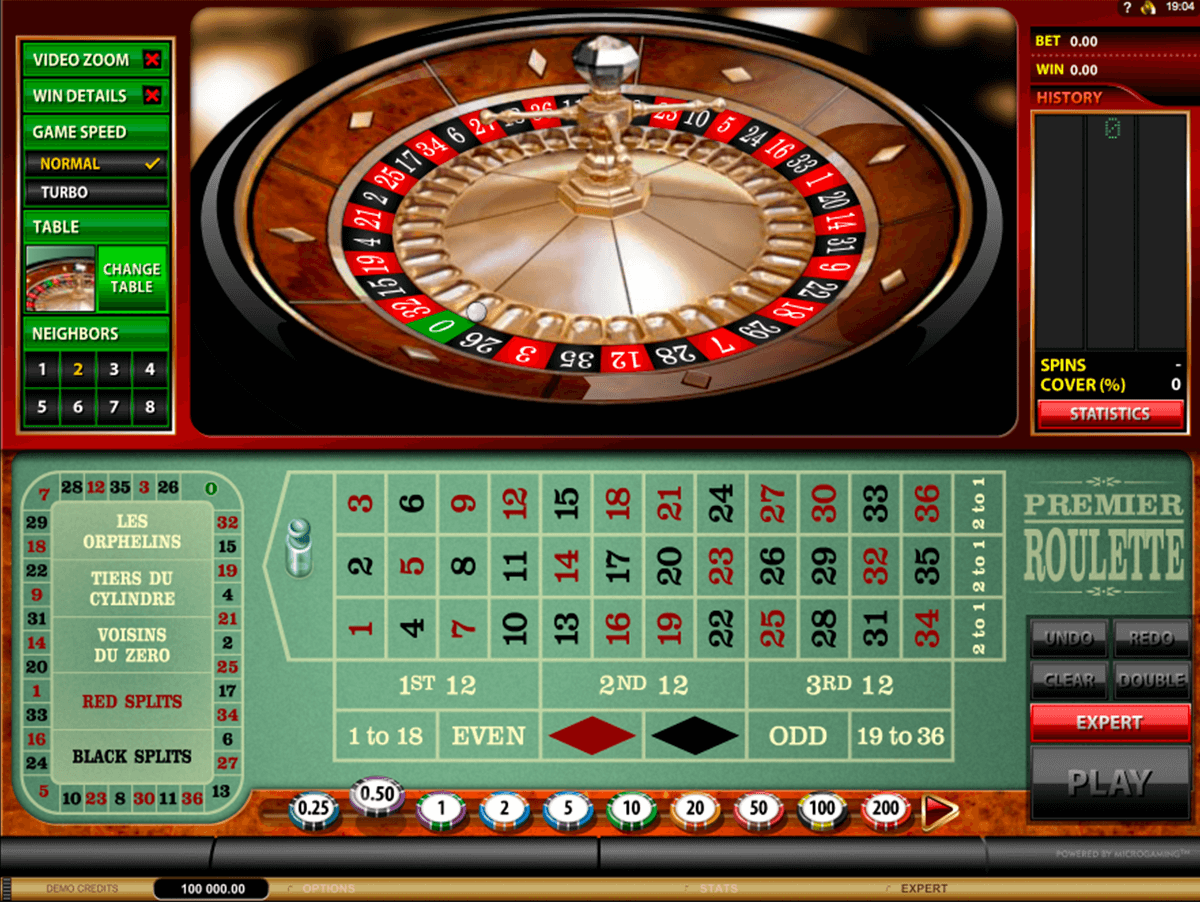 premier roulette microgaming online