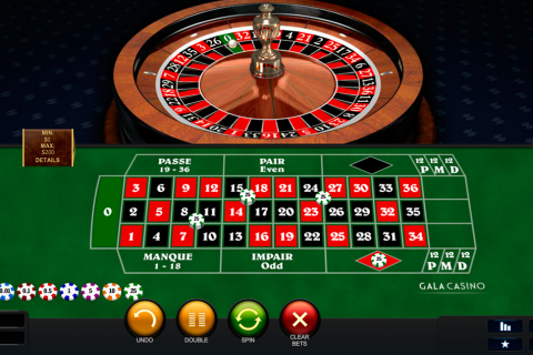 premium french roulette playtech online