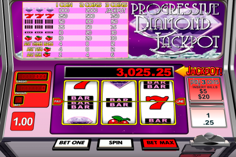 progressive diamond jackpot betsoft slot
