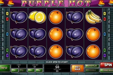 purple hot playtech slot