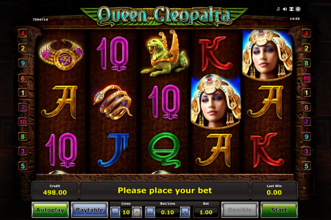 queen cleopatra novomatic slot