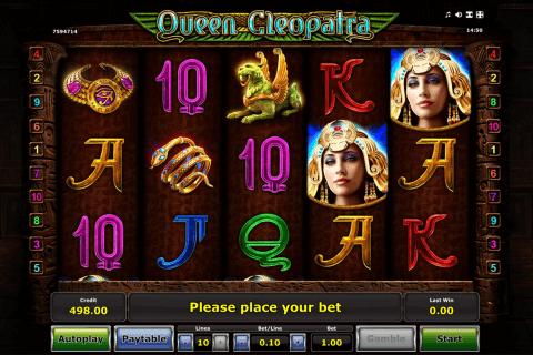 queen cleopatra novomatic slot